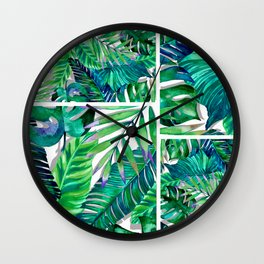 banana life 4 Wall Clock
