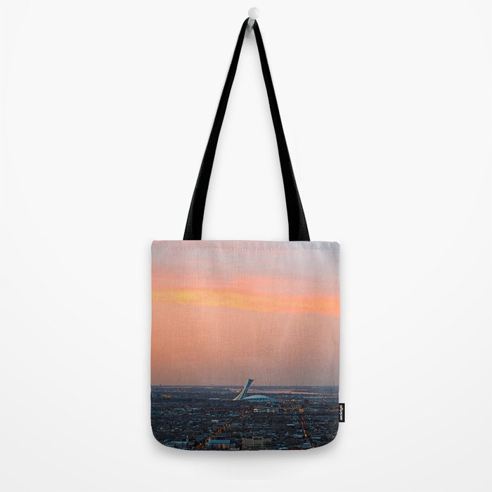 Montreal Twilight Tote Bag