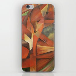 Foxes - Homage to Franz Marc (1913) iPhone Skin