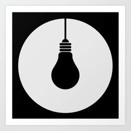 Daylight Dims Logo Art Print