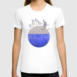 Lonely Wolf´s Planet T-shirt