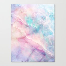 Iridescent marble Leinwanddruck