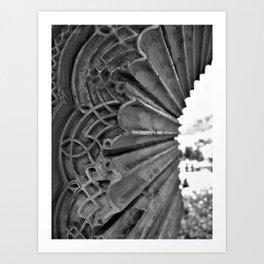 Alhambra Window Art Print