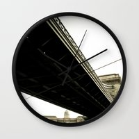 budapest Wall Clocks featuring Budapest by Javier Sánchez