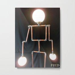 Lamp Man - FredPereiraStudios_Page_04 Metal Print
