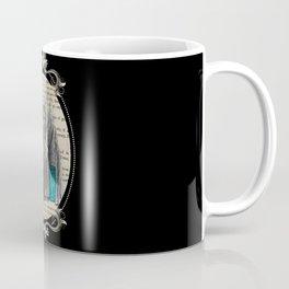 Follow The White Rabbit - Vintage Book Coffee Mug