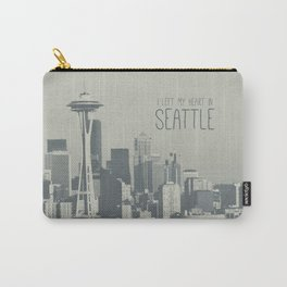 I LEFT MY HEART IN SEATTLE Carry-All Pouch