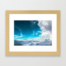 Summer Sky Framed Art Print