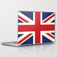 uk Laptop & iPad Skins featuring UK by Lucy Jacquard