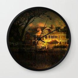 Spooky Boathouse Wall Clock
