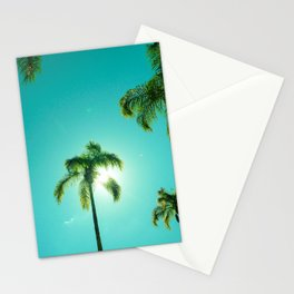 The Queen's Palms Stationery Cards