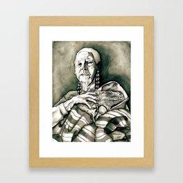 Abuela Concha Framed Art Print