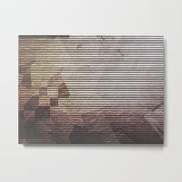 [02.03.17] Dusk Falls Twice Metal Print