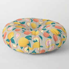Citrus Floor Pillow