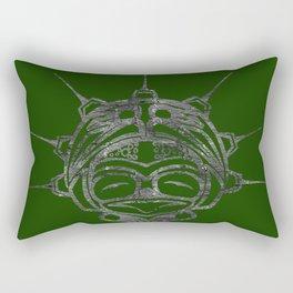 Smoke Frog Grass Rectangular Pillow
