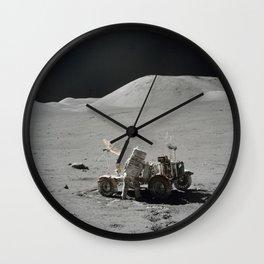 Apollo 17 - Lunar Rover Work Wall Clock