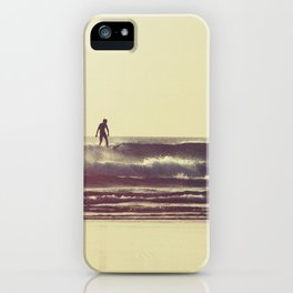 Sunset Surfers iPhone Case