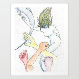 Elevation (The Rise) Art Print