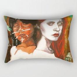 basic space Rectangular Pillow