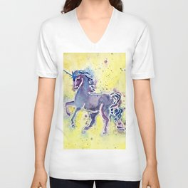 Unicorn Magic Unisex V-Neck