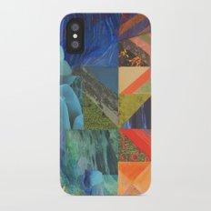 On the Rocks iPhone X Slim Case