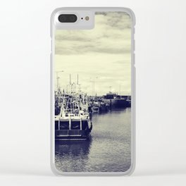 Pittenweem, Fife, Scotland Harbor Clear iPhone Case