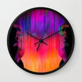Le Miroir a Menti Wall Clock