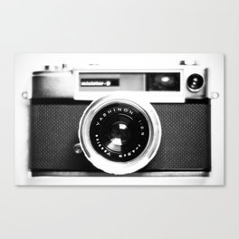 Camera Vintage Canvas Print