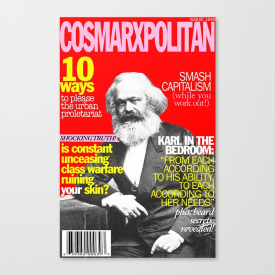 COSMARXPOLITAN, Issue 1 Canvas Print