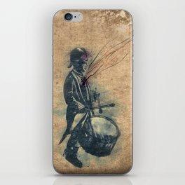 Drummer boy iPhone Skin