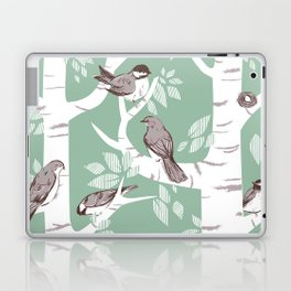 Birch Birds Laptop & iPad Skin