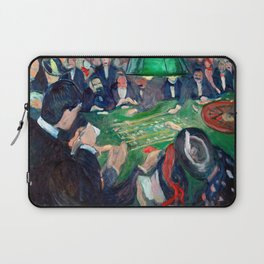 Edvard Munch - At the roulette table in Monte Carlo Laptop Sleeve