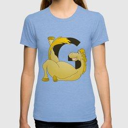 Pony Monogram Letter G T-shirt