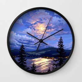 Lakeshore Wall Clock