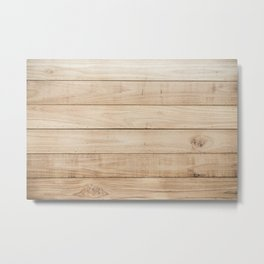 Wood plank texture 2 Metal Print