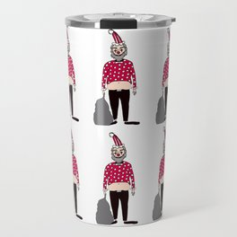 Santa Clown Travel Mug