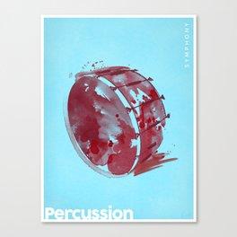 Symphony Series: Percussion Canvas Print