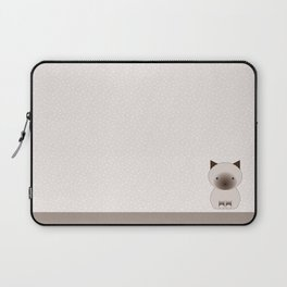 Birman cat pois Laptop Sleeve
