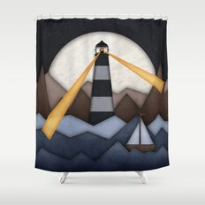 Show Me The Way To Go Home. Shower Curtain