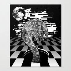 Claw Hole Canvas Print