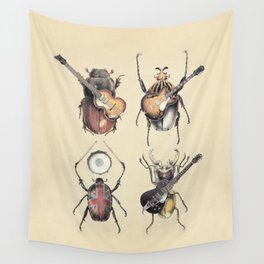 Meet the Beetles Wall Tapestry