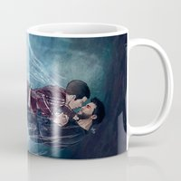 underwater Mugs featuring Underwater by MGNemesi