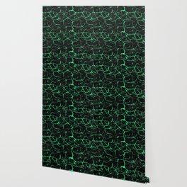 Green alexandrite gemstone wall Wallpaper