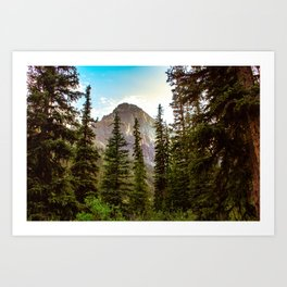 Canadian Peak Art Print