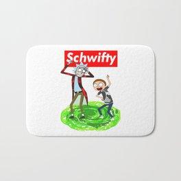 Rick morty Schwifty Bath Mat