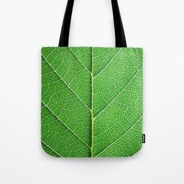 Green Vein Life Tote Bag