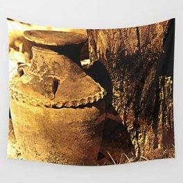 Ancient Jar Wall Tapestry
