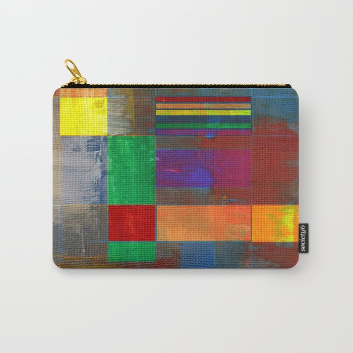 Mid-Century Modern Art - Rainbow Pride 2.0 Carry-All Pouch