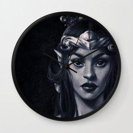Elven Queen Wall Clock