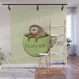 Sloffee Wall Mural